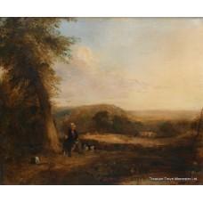 Fine Romantic 18th c. Landscape Painting