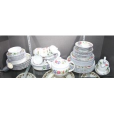 56 Piece Royal Worcester Woodbury Dinner Tea Service