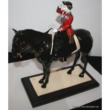 """Coalport """"Trooping the Colour"""" Ltd Edition Porcelain Statue"""