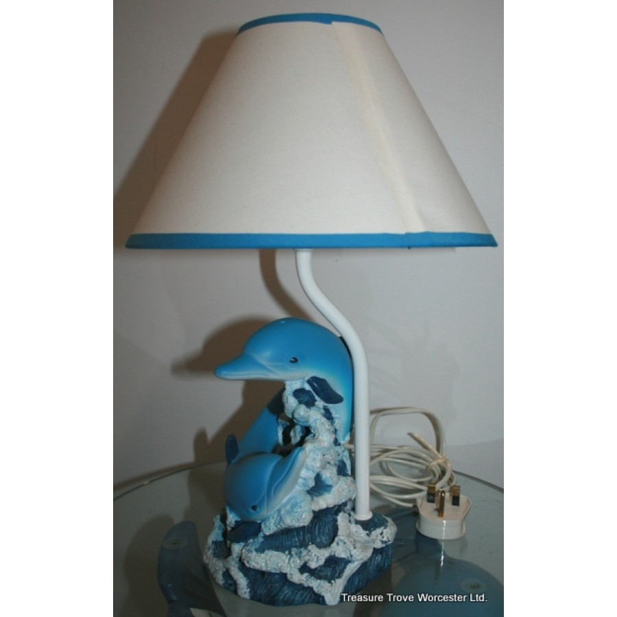 Lamps And Lighting >> Dolphin Table Lamp