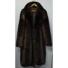 Gents Real Fur Otter Full Length Coat