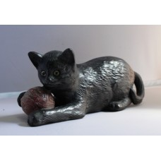 Bretby Vintage Ceramic Cat Figurine