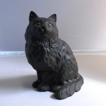 Beswick Ceramic Black Cat Figurine