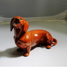 Beswick Dashchund Sausage Dog Figurine