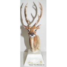 Kinver Ceramics Paul English Stag's Head
