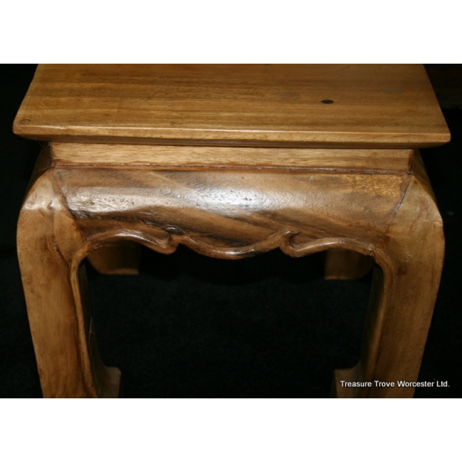 Heavy Small Solid Mexican Pine Coffee Table