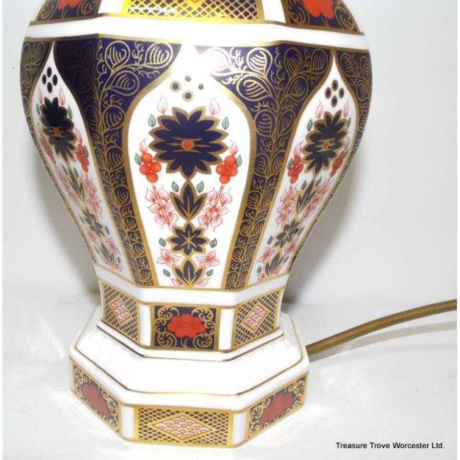 Royal Crown Derby Old Imari Japan Table Lamp