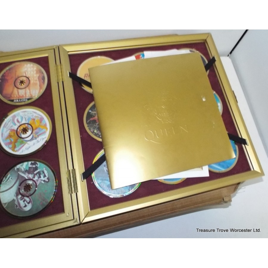 Collector S Ultimate Queen Gold Box Set