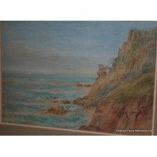 'Near Land's End' A.M.Wilkins Watercolour