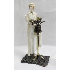Albany Art Deco Style 'Monaco' Figurine Porcelain & Bronze