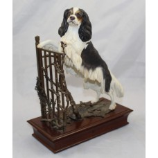 Albany Porcelain & Bronze Ltd Edition King Charles Spaniel