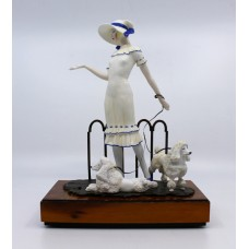 Albany Limited Edition Porcelain & Bronze Figurine Paris