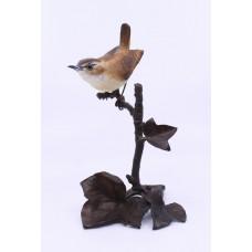 Albany Worcester County Birds Porcelain & Bronze Wren