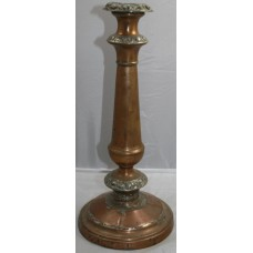 Antique Georgian Copper Candlestick