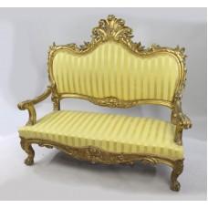 Antique Italian Giltwood Sofa
