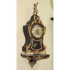 Antique Late 19th c. French Boulle Bracket Clock
