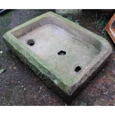 Antique Victorian Stone Pantry Sink Planter Trough