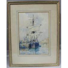 Augustus Morton Hely-Smith RBA 20th Century Ship Watercolour