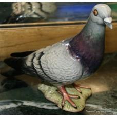 Beswick England Model '1383' Glazed Grey Pigeon