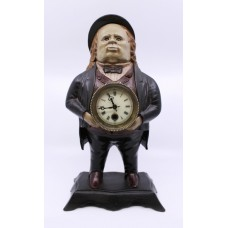Bradley & Hubbard John Bull Blinking Eye Novelty Clock