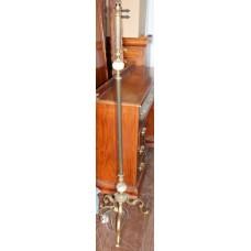 Brass & Onyx Vintage Standard Lamp