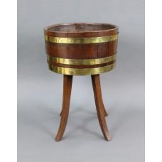 Georgian Brass Bound Oak Cellaret