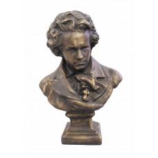 Bronze Effect 2ft Bust of Beethoven