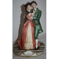 Capodimonte 'Romantico Veneziano' Figure by Bruno Merli