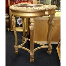 Victorian Carved Giltwood Bijouterie Display Cabinet
