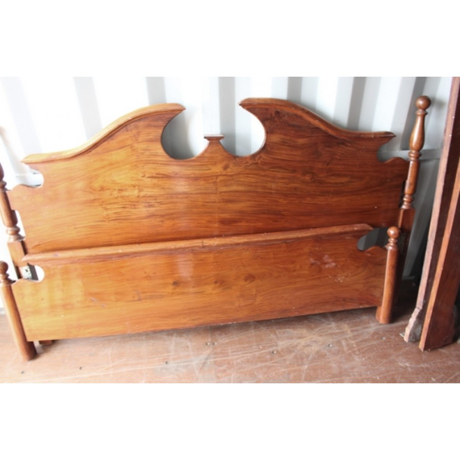Awesome Carved Wood Broken Swan Neck Pediment 6Ft Superking Bed Creativecarmelina Interior Chair Design Creativecarmelinacom