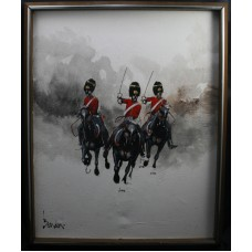 """Charge of the Light Brigade"" Painting"