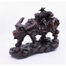 Chinese Carved Rootwood 19th c. Sculpture