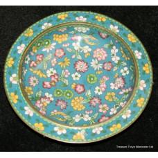 Cloisonné Metal Oriental Bowl