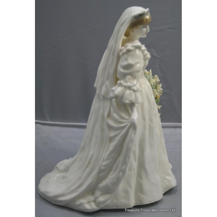 Coalport Figurine Diana Princess Of Wales 29th July 1981