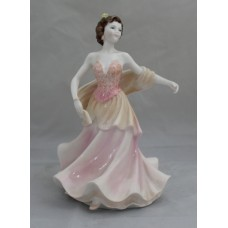 Coalport Ladies of Fashion Figurine Carnival