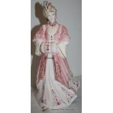 Coalport 'Lady Harriet' La Belle Epoque Figurine