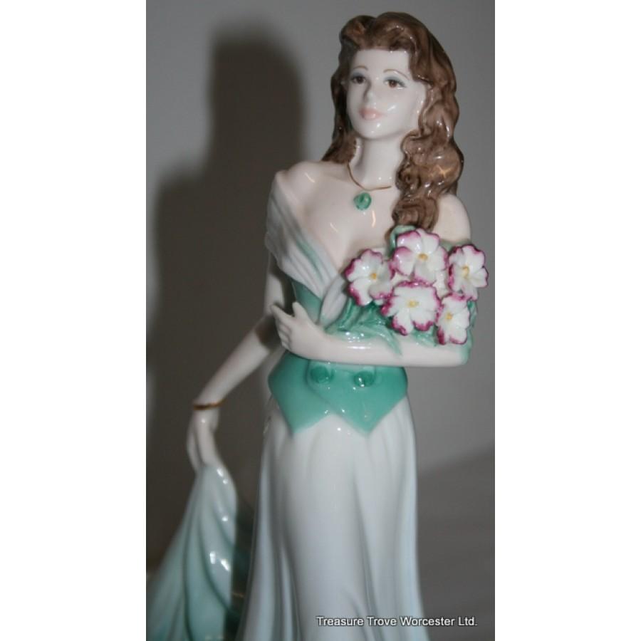 Coalport Ladies Of Fashion Figurine Margaret