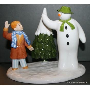 Coalport The Snowman Quot Goodbye My Friend Quot Figurine