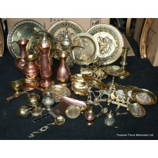 Collection of Vintage & Antique Brass & Copper