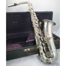 C.G. Conn Silver Plated 1924 Saxophone #131449