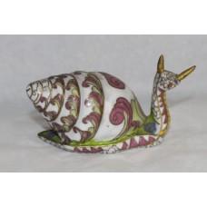 Decorative Brass Cloisonné Enamel Snail