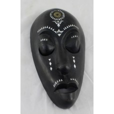 Decorative Carved Wood African Tribal Mask