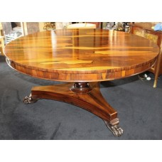 Fine Early 19th c. Sabina Wood Centre Table