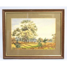 Edwardian English Landscape Watercolour
