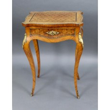French Marquetry Ladies Vanity Table c.1880