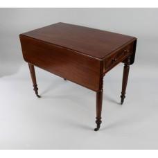 English Regency Mahogany Pembroke Table