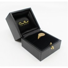 Engraved WS William Shakespeare 20ct Gold Signet Ring