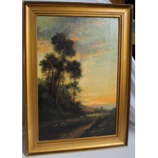 Francis.E.Jamieson (British, 1895-1950) Landscape Oil on Canvas