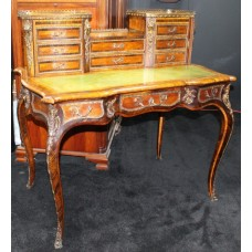 Fine French 19th c. Inlaid Bonheur du Jour Desk