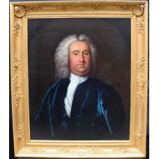 English 18th c. Portrait of a Gentleman Oil on Canvas